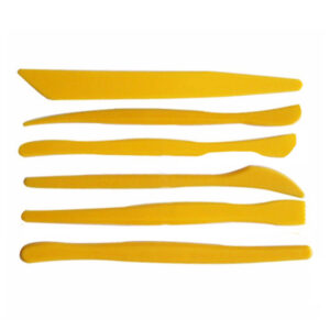 Plastic Clay Modelling Tool Set of 6