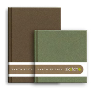Anupam Sketch-E Earth Edition Sketch Book A4/A5/A6/Square Size 140 GSM