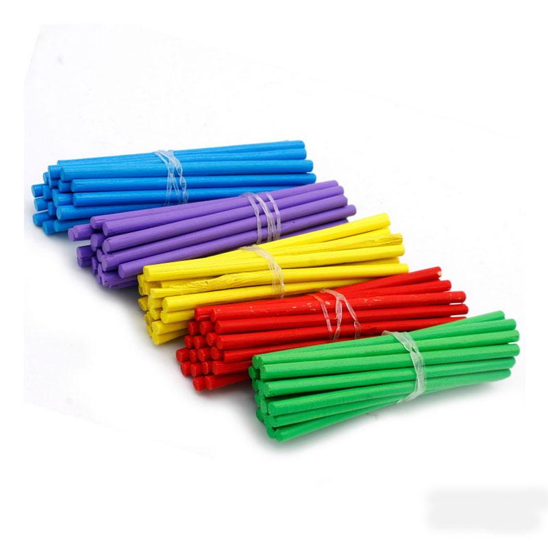 Craft Stick Round 3.5 Inch Colour
