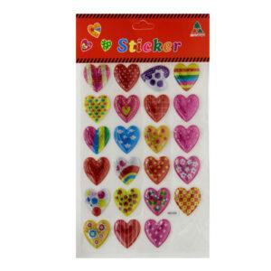3D Sticker (Heart)