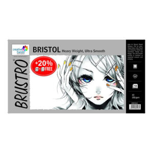Brustro Bristol Ultra Smooth Paper A3 Size 250 GSM