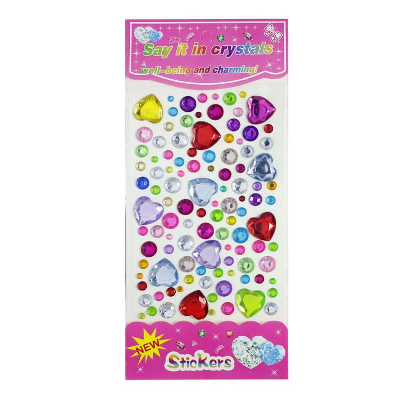 Crystal Sticker (Heart)