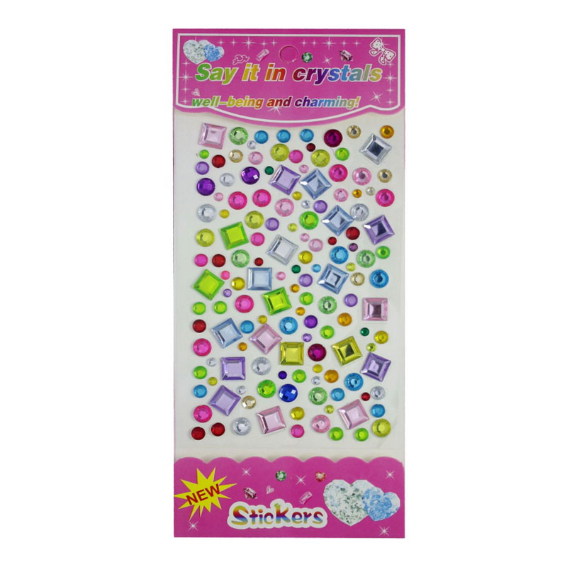 Crystal Sticker (Round and Square)