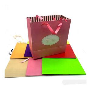 "Designer Paper Bag 10"" X 10"""