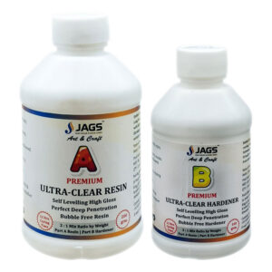Premium Ultra Clear Resin and Hardner
