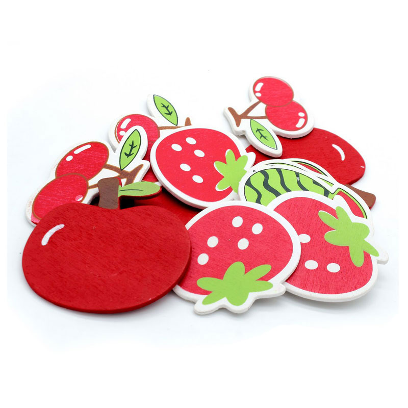 Wooden Fruit Cut Out (Pack of 12)